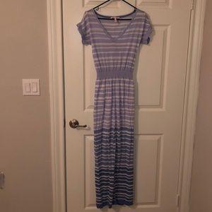 Victoria's Secret Blue Ombré Maxi Dress